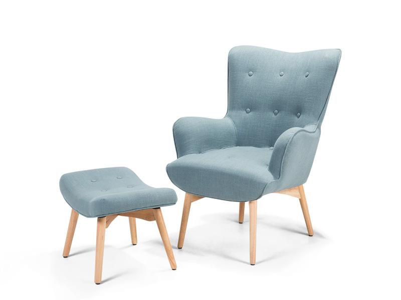 sessel schwarz weiss ohrensessel relaxsessel stuhl hocker polstersessel. Black Bedroom Furniture Sets. Home Design Ideas