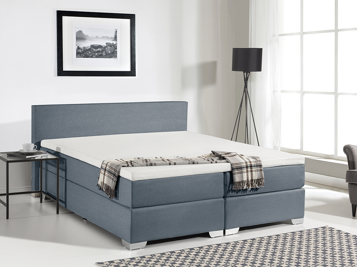 Divan bed furniture super king size box spring bedroom for Grey divan king size bed