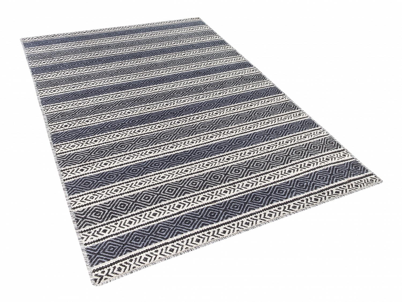 tapis tapis moderne tapis coton tapis gris tapis beige tapis 160x230 cm ebay. Black Bedroom Furniture Sets. Home Design Ideas