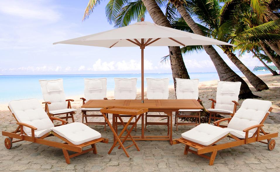 Meble Ogrodowe Drewniane Na Allegro : Meble ogrodowe drewniane stół z krzesłami TOSCANA  5821834969