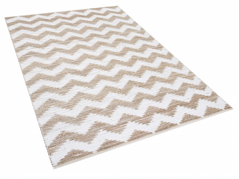 Teppich 160x230  Teppich, 160x230 cm, Beige, Polyester, Baumwolle, Jute, Vorlage ...