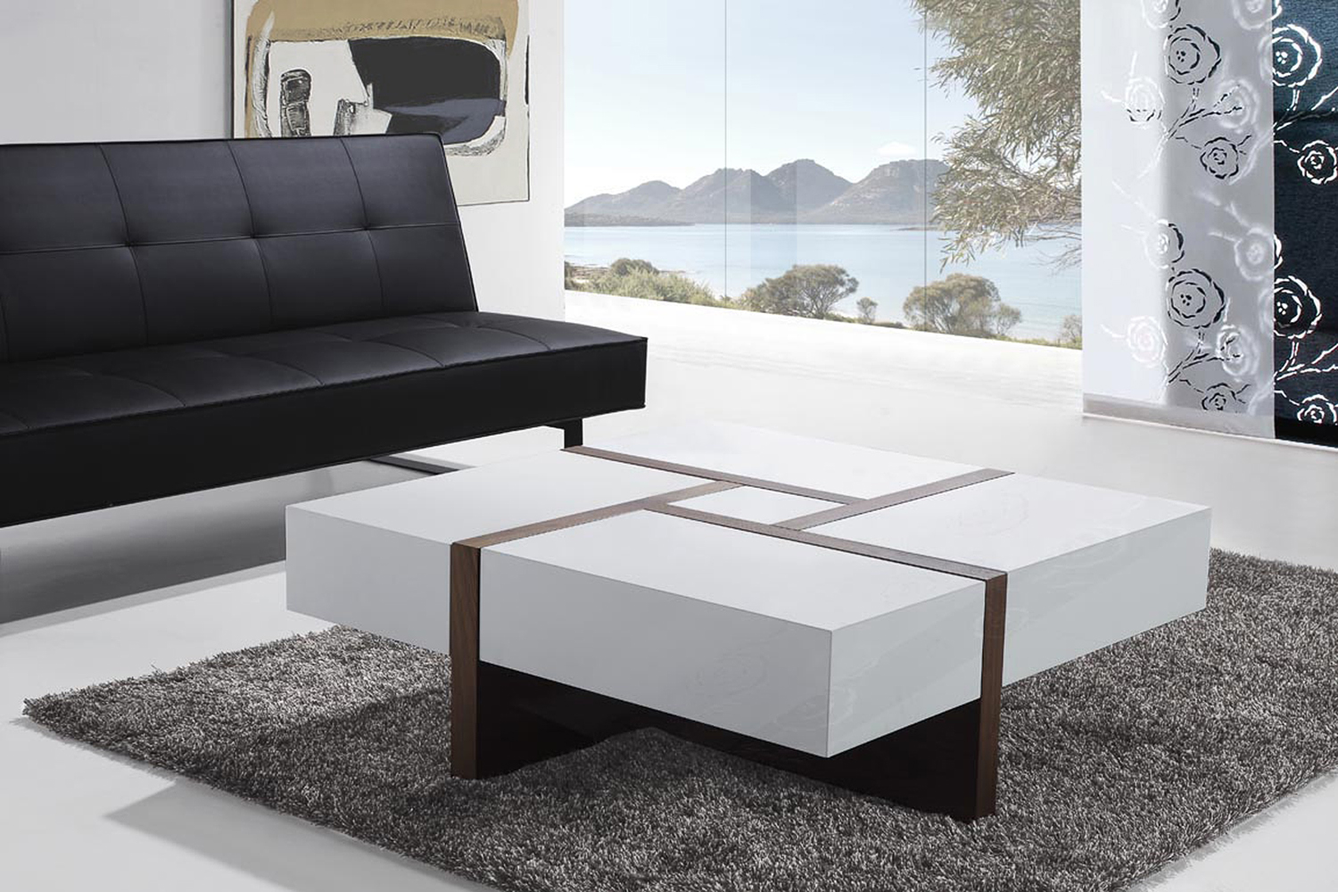 Sofa sectional modular beige fabric living room l shape left oslo ebay Sofa quadratisch
