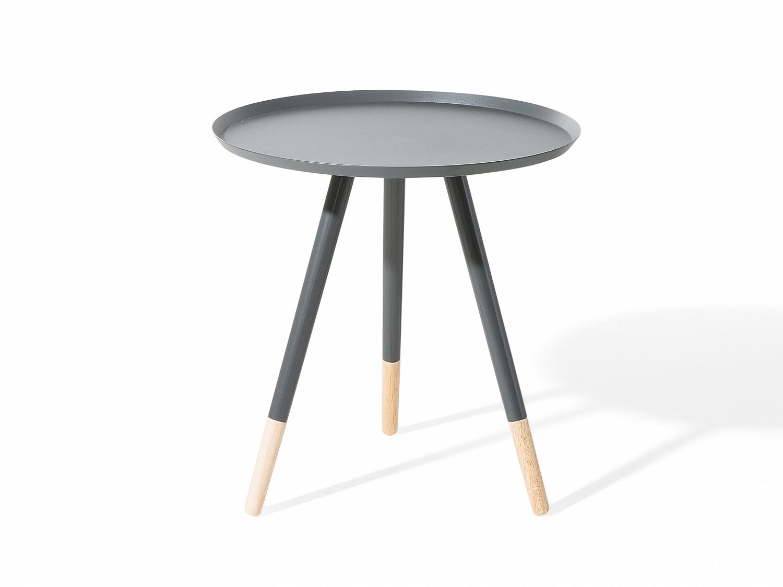 couchtisch grau beistelltisch wohnzimmertisch. Black Bedroom Furniture Sets. Home Design Ideas