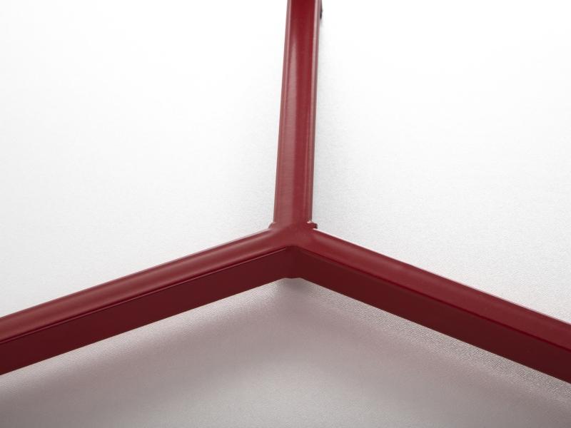 couchtisch beistelltisch wohnzimmertisch tisch tischchen 60x40 cm rot ebay. Black Bedroom Furniture Sets. Home Design Ideas