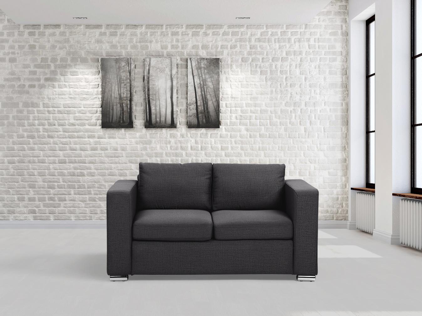 Fabric Sofa Loveseat Two Seater Living Room Sofa 2