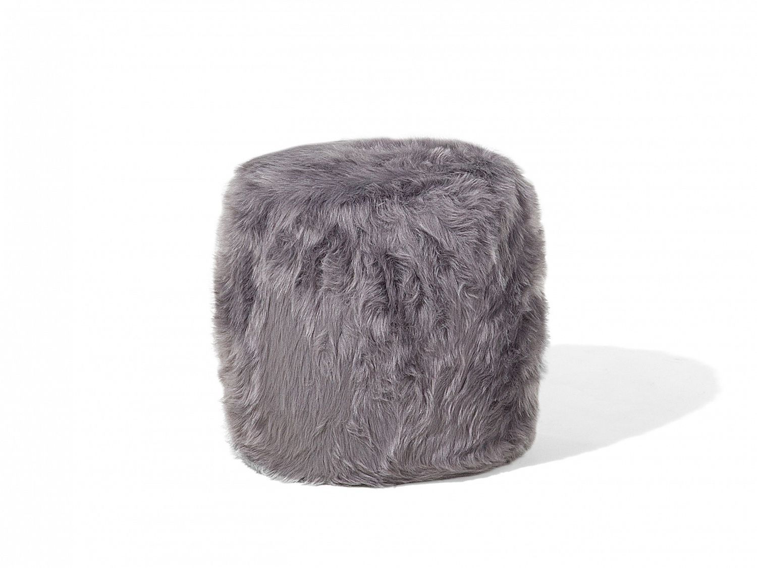 Image Is Loading Ottoman Living Room Stool Pouffe Round Fluffy Shaggy