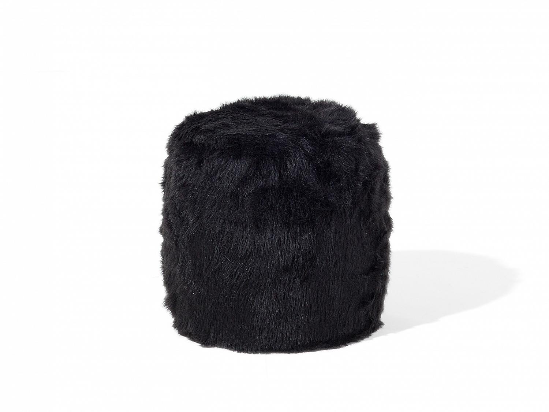 hocker schwarz fu hocker ottoman sitzhocker sitzpouf. Black Bedroom Furniture Sets. Home Design Ideas